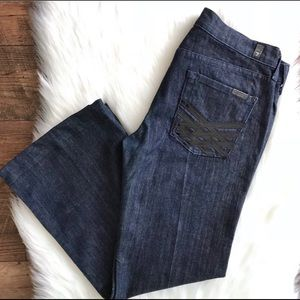 7 for all mankind Dark Wash Jeans Size 29 Women's